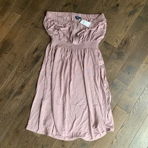 GAP Casual Pink/Rose Strapless SunDress, Size L